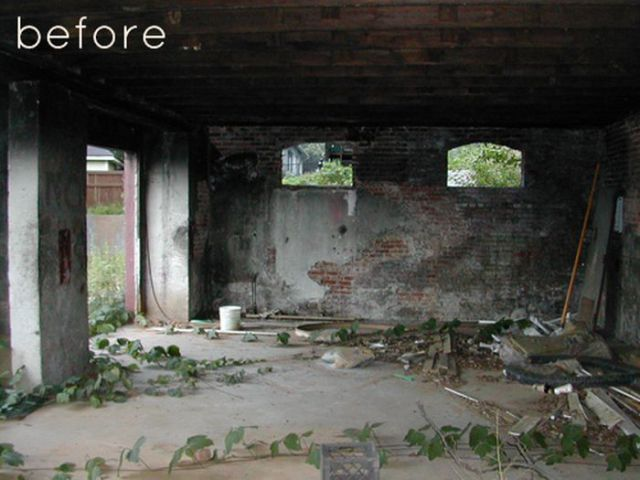 Stunning Transformation of a Decrepit Building