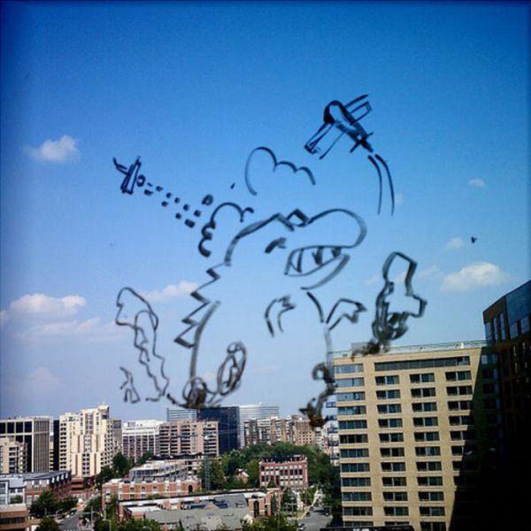 Great Window Drawings