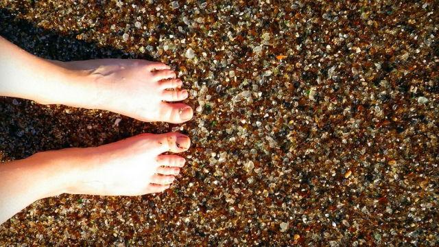 The Unnatural Beauty of Glass Beach California