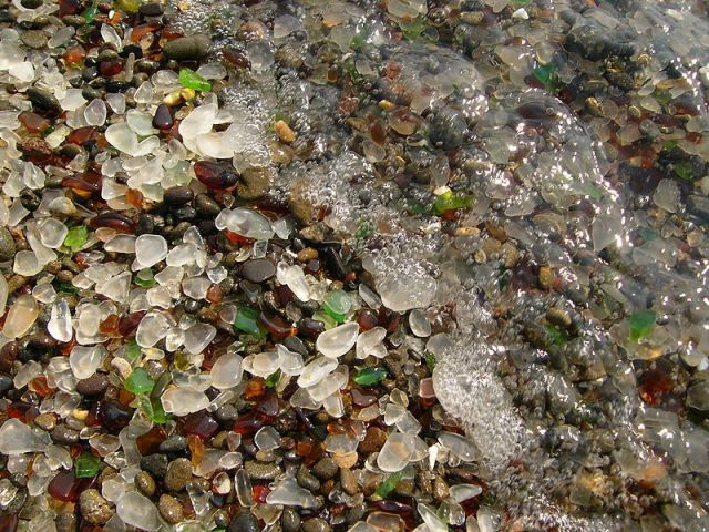 The Unnatural Beauty of Glass Beach California