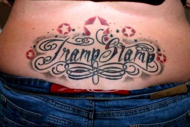 Phoenix Tramp Stamp Tattoos: 20 Epic Tramp Stamp Tattoos (20 Pics)