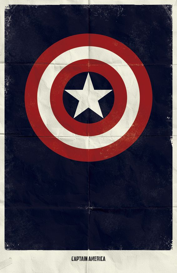 Great Minimalist Posters by Marvel
