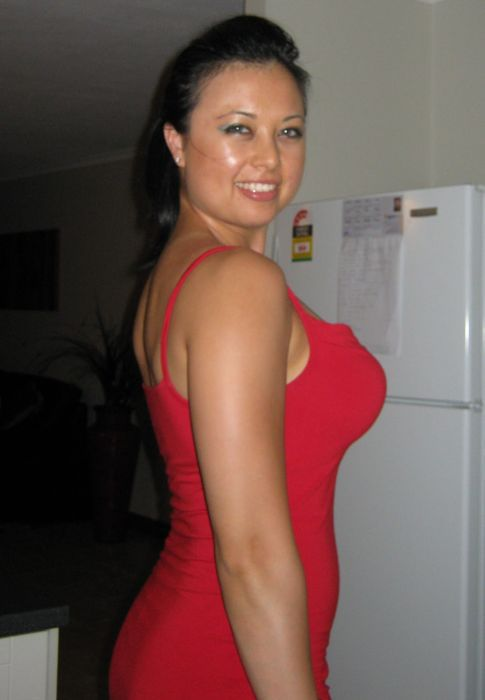 Red Hot Girls in Red Hot Dresses