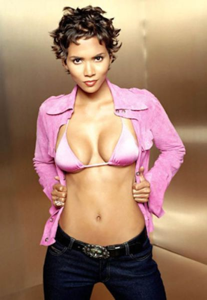 There other Halle berry very sexy remarkable, very