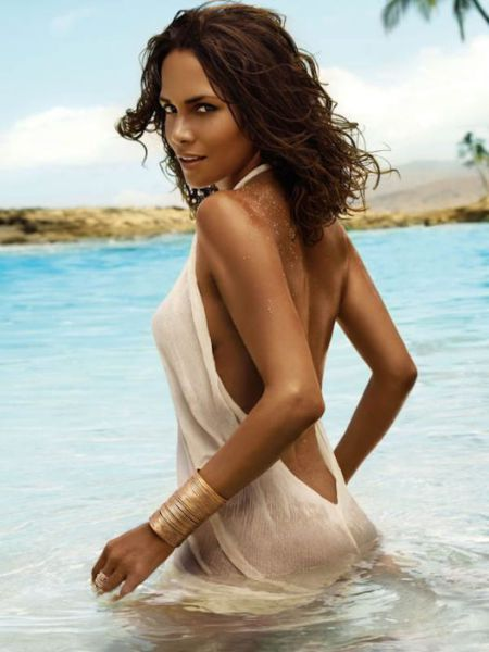 A Very Sexy Halle Berry at 45
