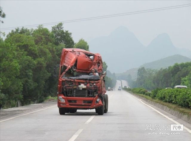 Chinese Road Monster
