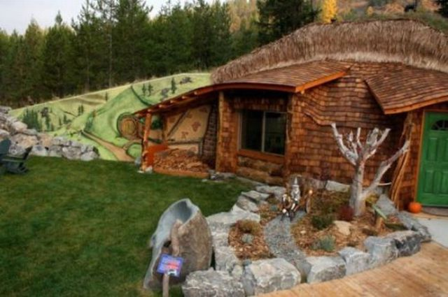 A Real Hobbit House