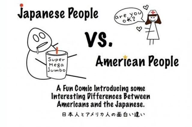 The Difference between Japanese and American People