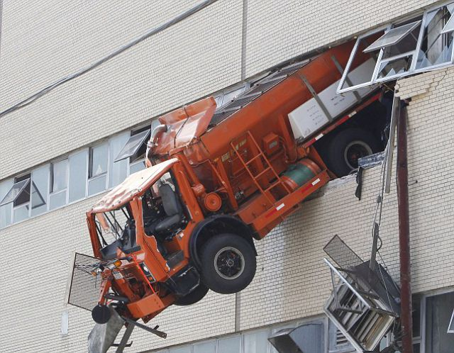 A Tricky Truck Accident