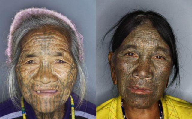 Haggard Tattooed Female Faces