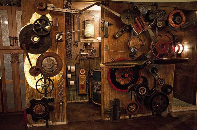 Amazing Steampunk Apartment