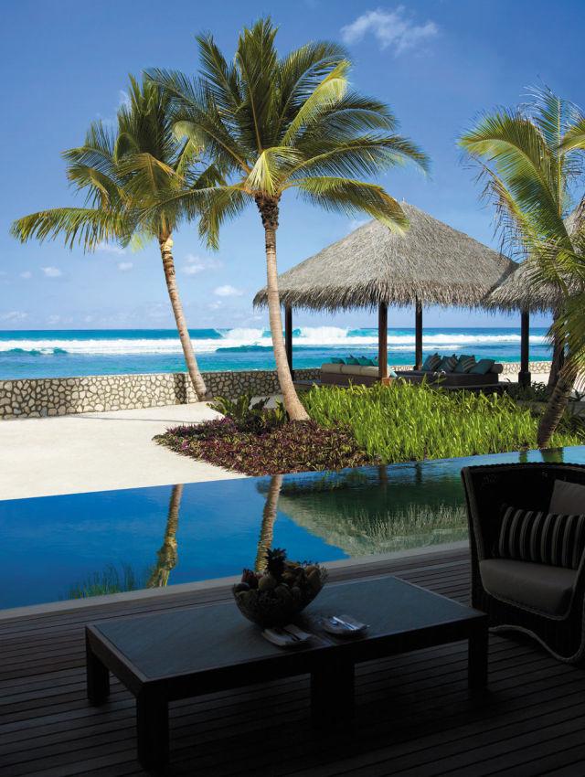 A Beautiful Place on the Maldive Islands