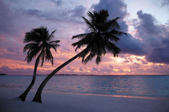 A Beautiful Place on the Maldive Islands