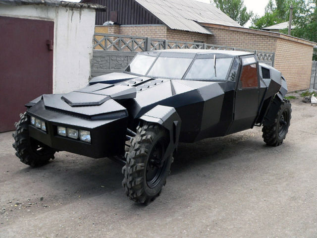 A Homebuilt Car Out of This World