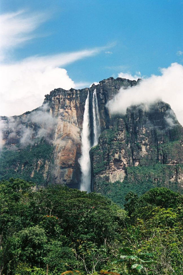 Breathtaking Angel Falls