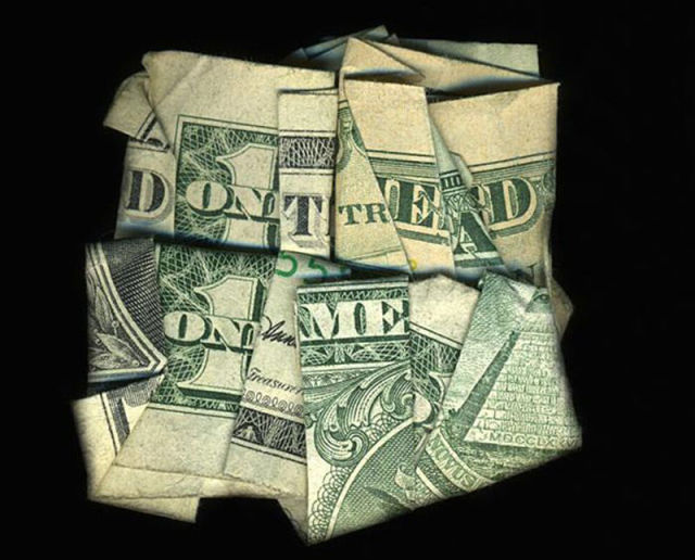 Hidden Messages on Dollar Bills