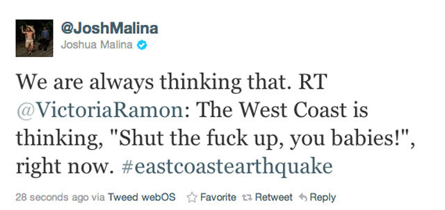 """The """"Devastating"""" Effects of The East Coast Earthquake"""