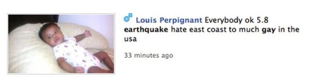 "The ""Devastating"" Effects of The East Coast Earthquake"