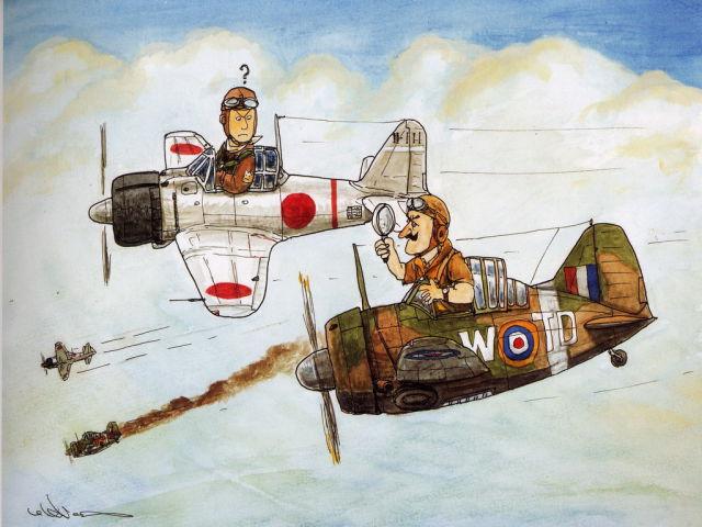 """World War II Japanese """"Zero Fighter"""""""