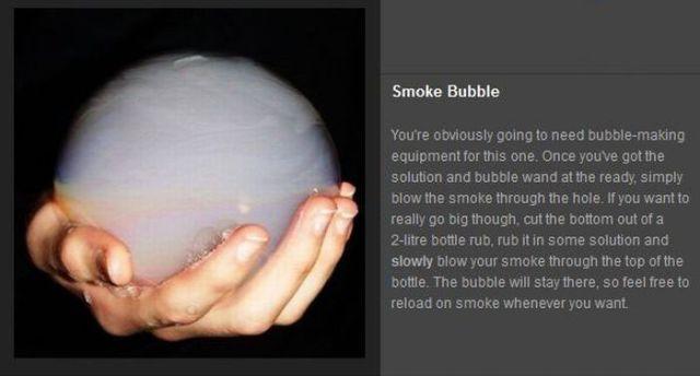 Smoking Tricks