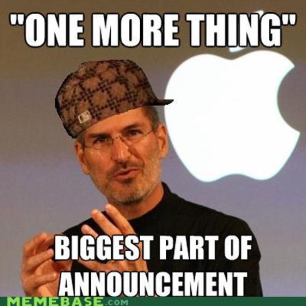 Steve Jobs Immortalized in Hilarious Memes
