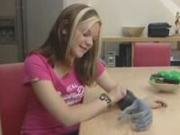 Youngest European Girl to Get Bionic Fingers
