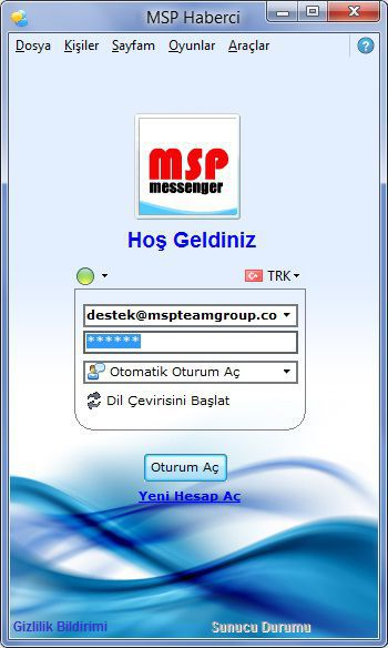 MSP Messenger (Turkish Messenger)