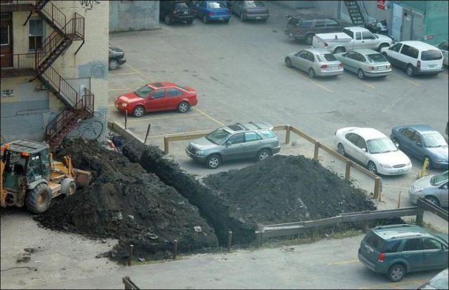 Big Fails during Parking