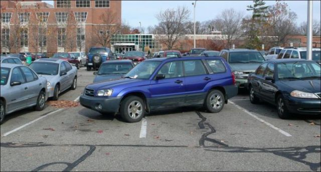 Big Fails during Parking