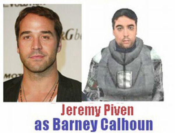 Celebrities vs Half-Life Characters