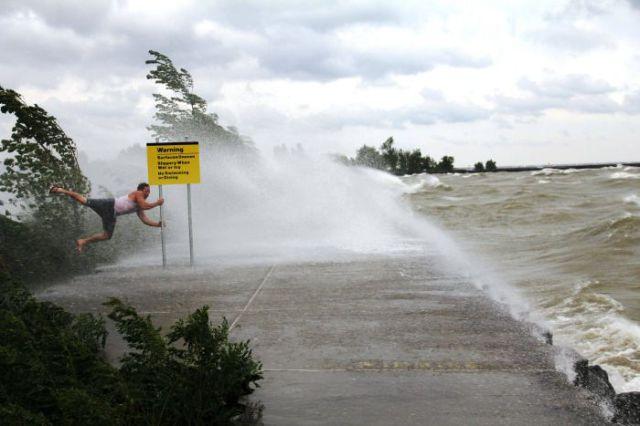 Having a Blast With Hurricane Irene
