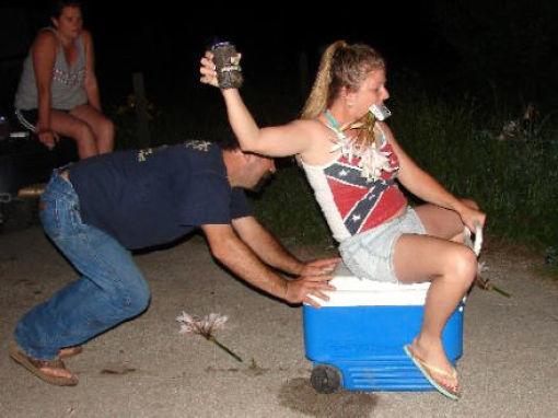 Classic Redneck Moves