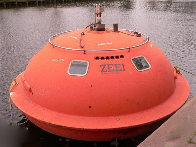 Floating Capsule Hotel in France