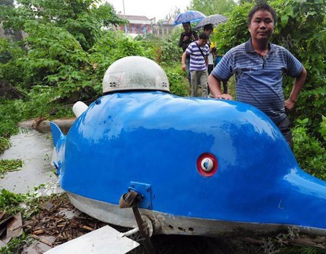 Homebuilt Mini Submarine