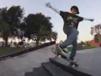 Amazingly Talented 10-Year-Old Skateboarder