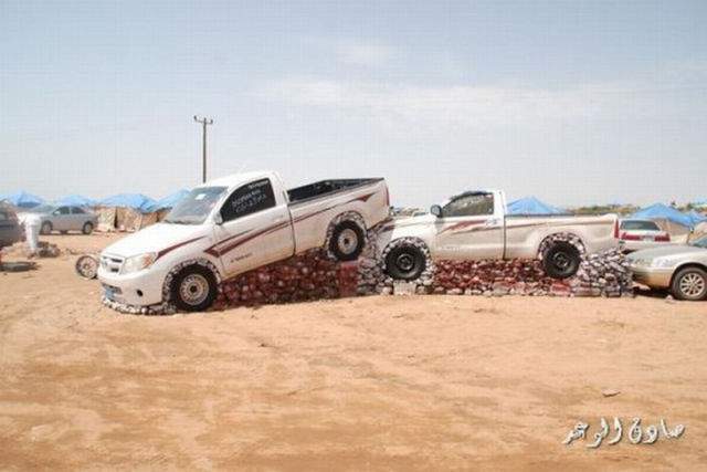 A Strange Car Show in Saudi Arabia
