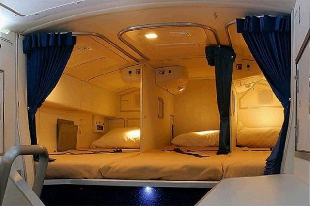 Awesome Airplane With Cozy Beds 16 pics Izismilecom