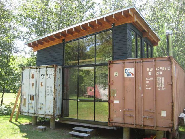 Brilliant cargo container structures 11 pics for Structure container maritime