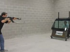 Would You Dare Being Shot at with an AK-47?