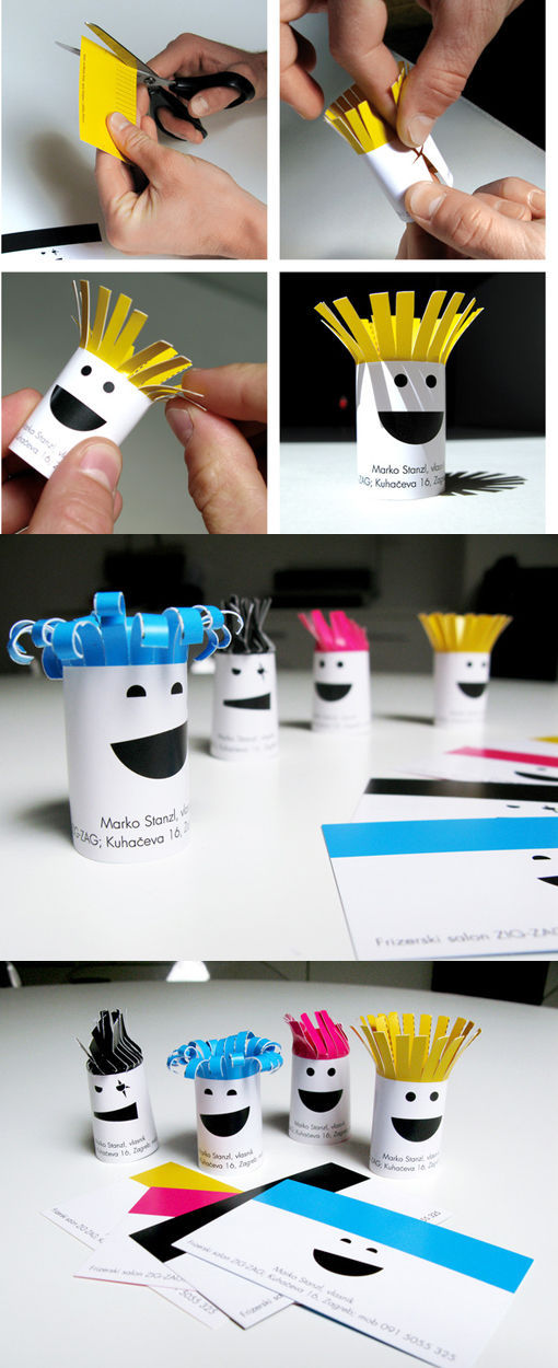 Creatively Unusual Buisness Cards