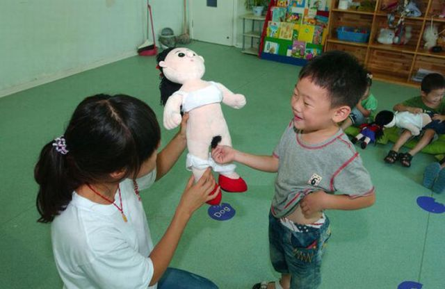 Chinese Anatomy Lessons for Kids