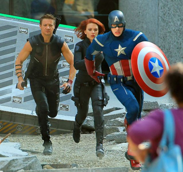 Visiting the Avengers
