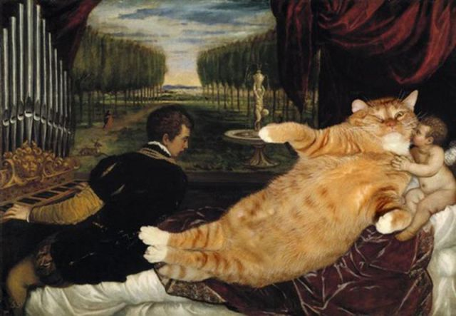 Cats in Classic Paintings