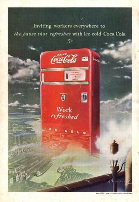 Old Time Coke Posters