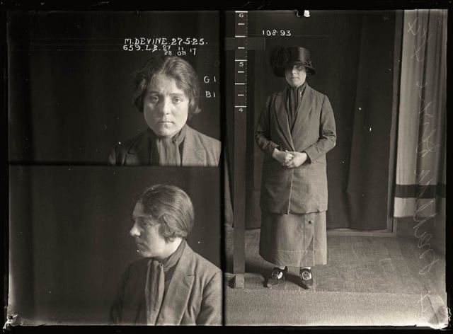 Retro Mug Shots of Women