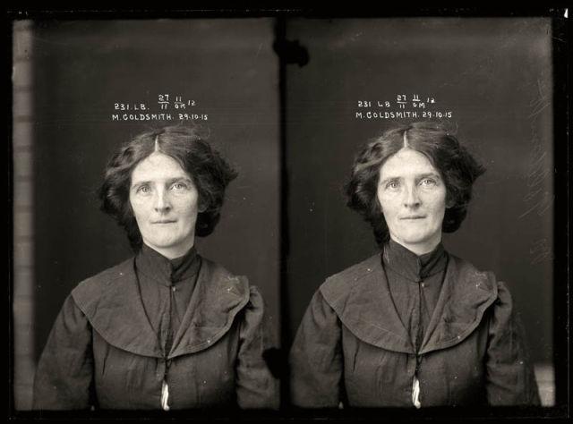 Retro Mug Shots of Women