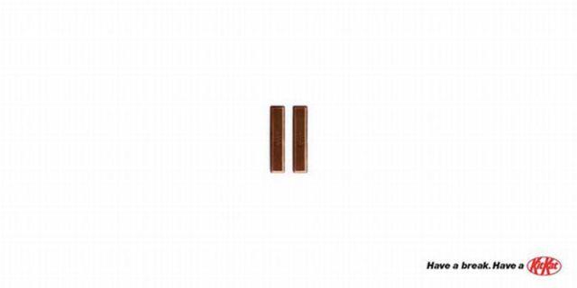 Very Creative Minimalist Print Advertisements
