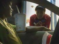 Funny Drive Thru Floating Cup Prank