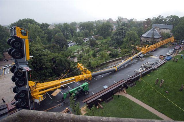 A Crane Mishap