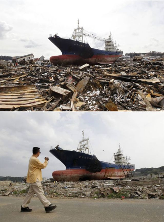 Japan Before and After the Earthquake and the Tsunami